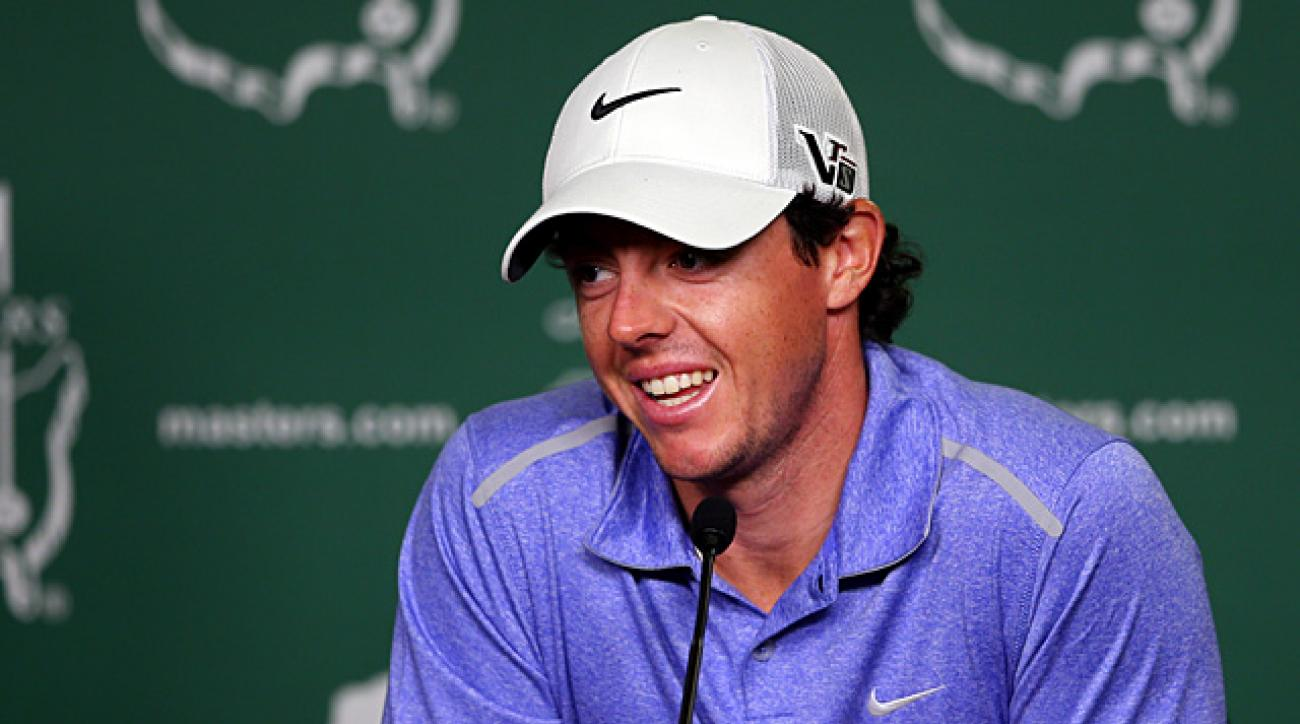 Rory McIlroy on why he's not a rival to Tiger Woods