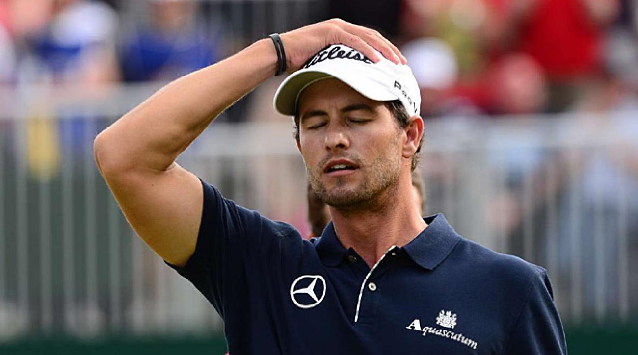 Adam Scott's collapse made the British Open memorable