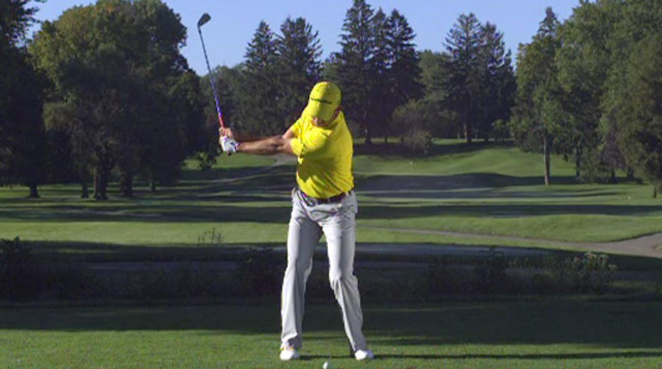 Sergio Garcia's Swing In Slow Motion
