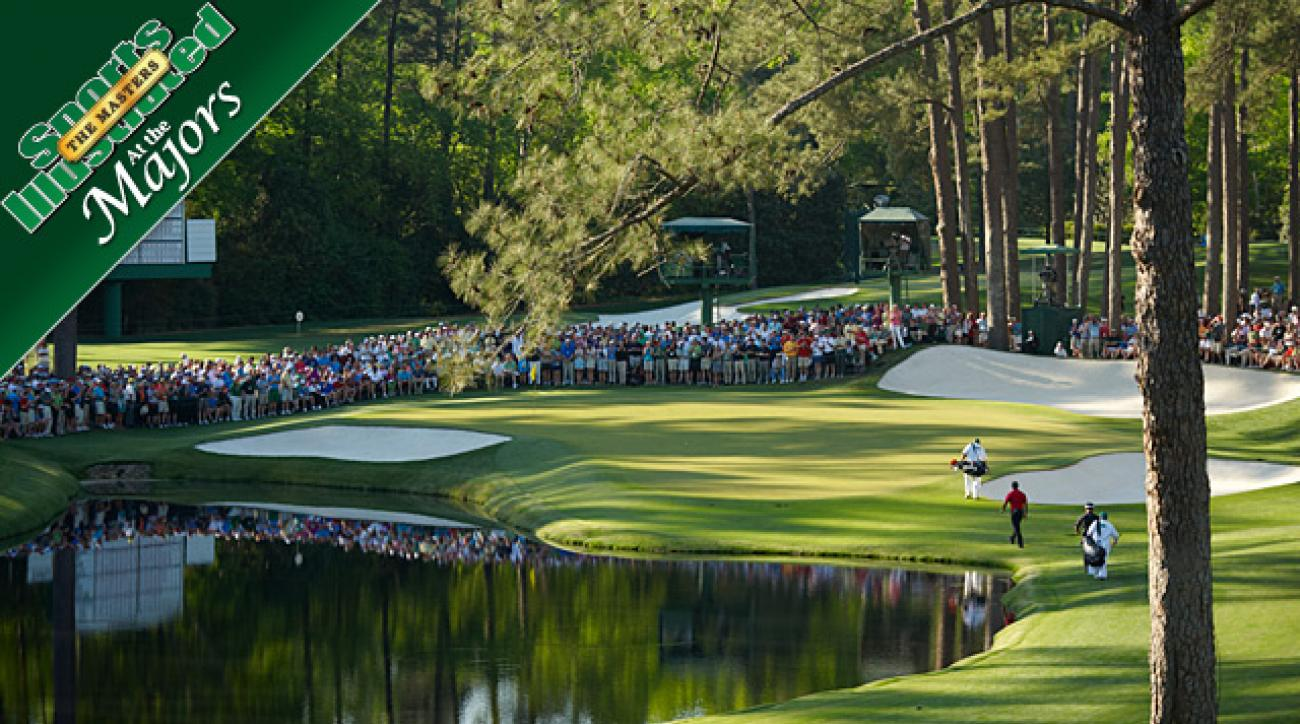 2012 Masters: Sunday pin report from Augusta National