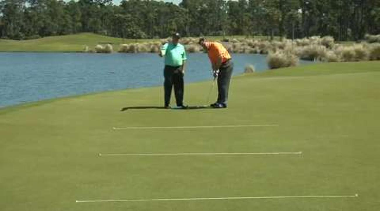 How to match your tempo to putt length