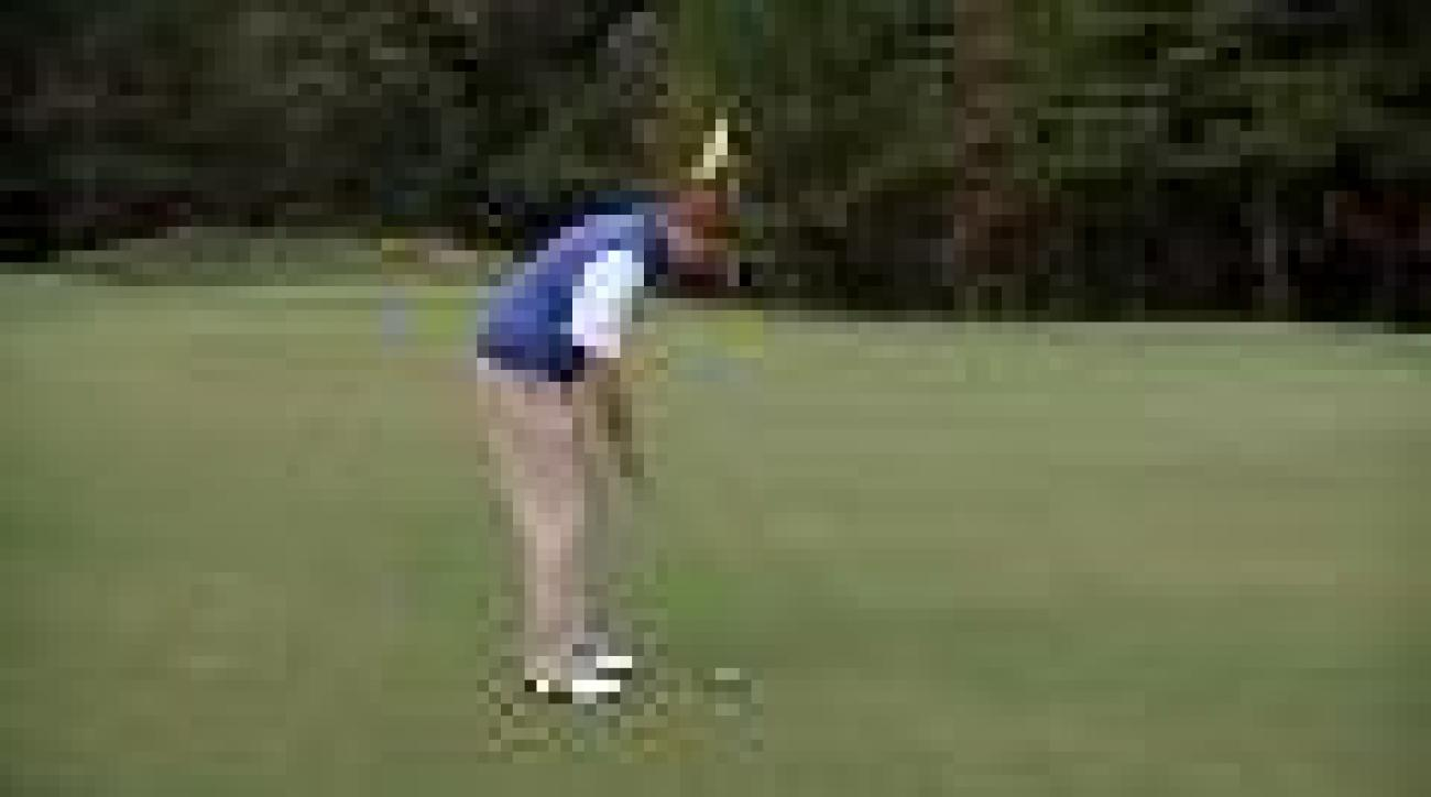 Three steps to better putting