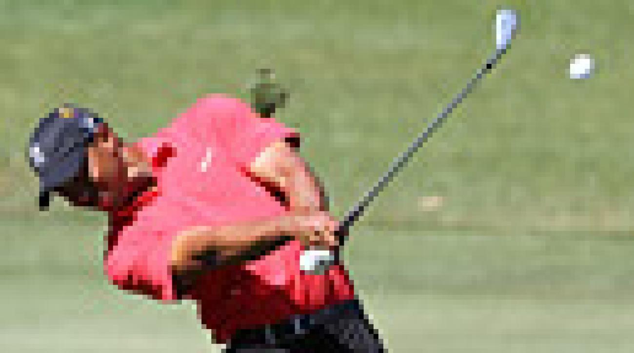 Big Play: Tiger Woods's shot-shaping at Bay Hill