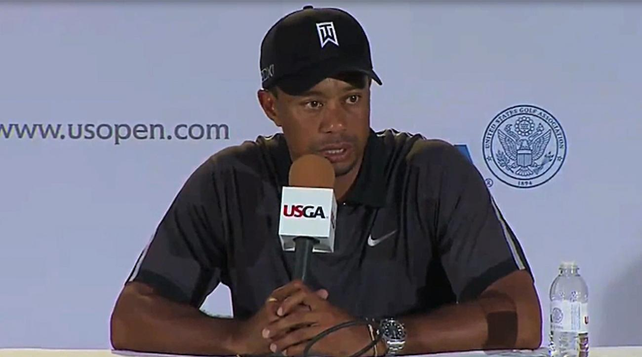 Tiger, Sergio speak to media about feud
