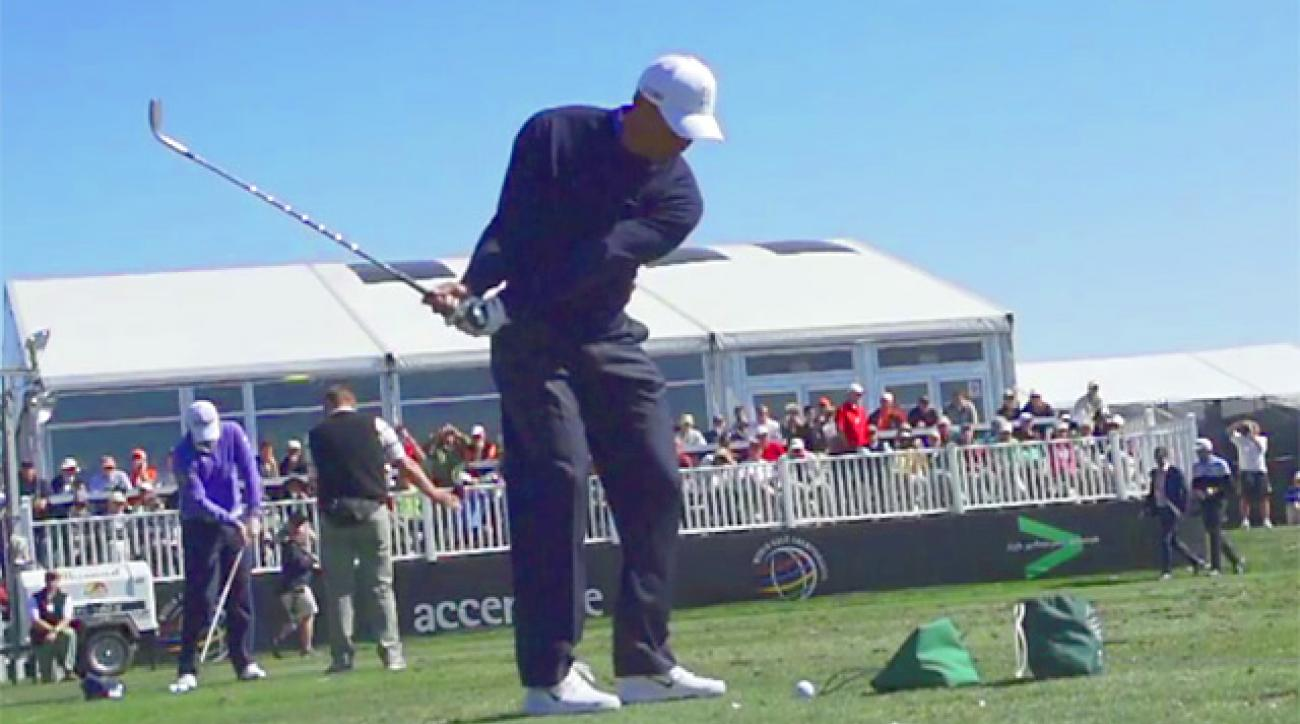Tiger Woods' Swing In Slow Motion