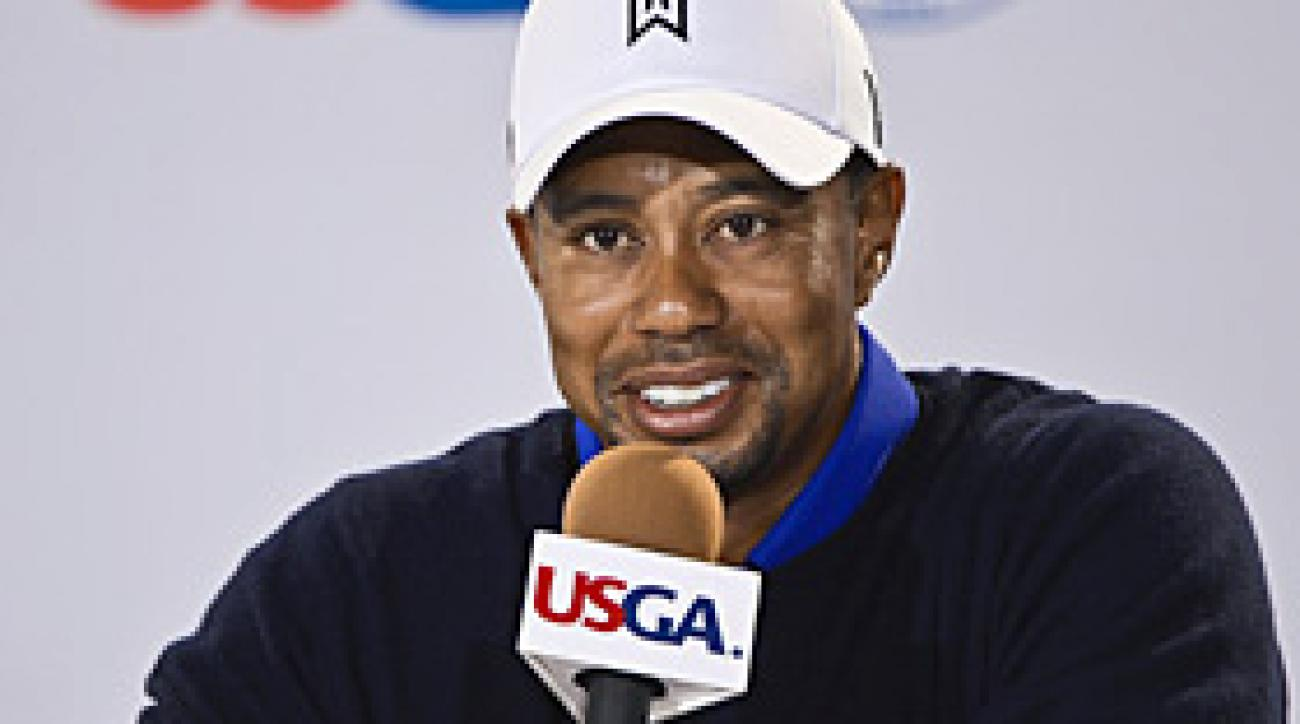 Tiger Woods press conference at 2012 U.S. Open