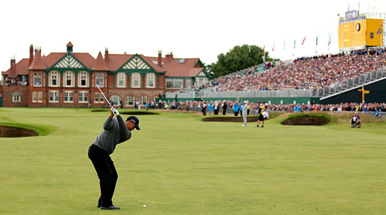 Tiger Woods, weather among big weekend storylines at British Open