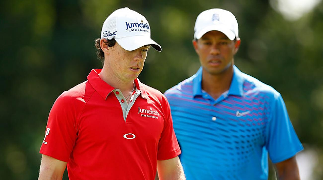 Is Tiger Woods intimidated by Rory McIlroy?