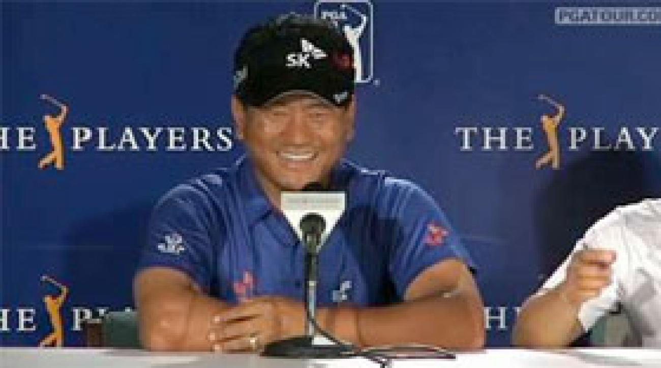 K.J. Choi discusses his playoff win at the Players