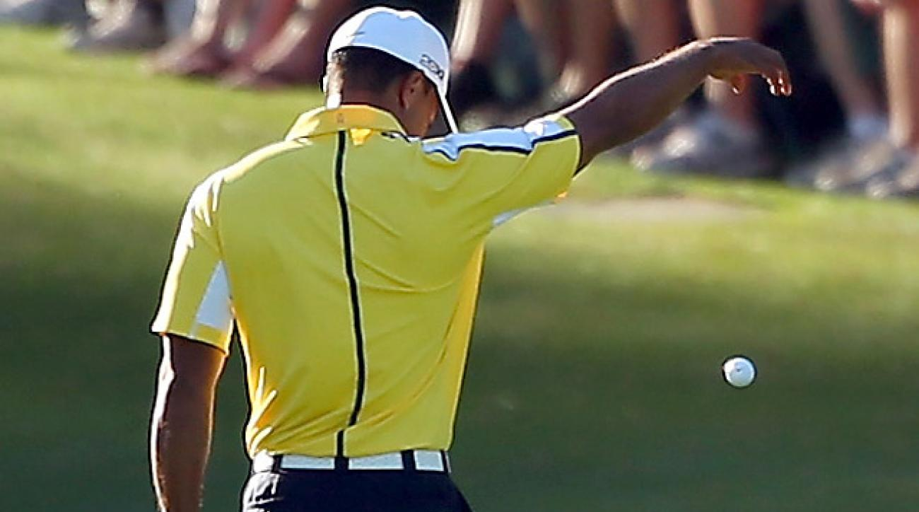 Tiger Woods's controversial Masters penalty