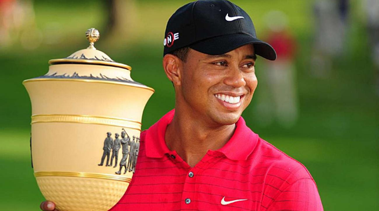 Tiger Woods eyeing eighth career title at Firestone