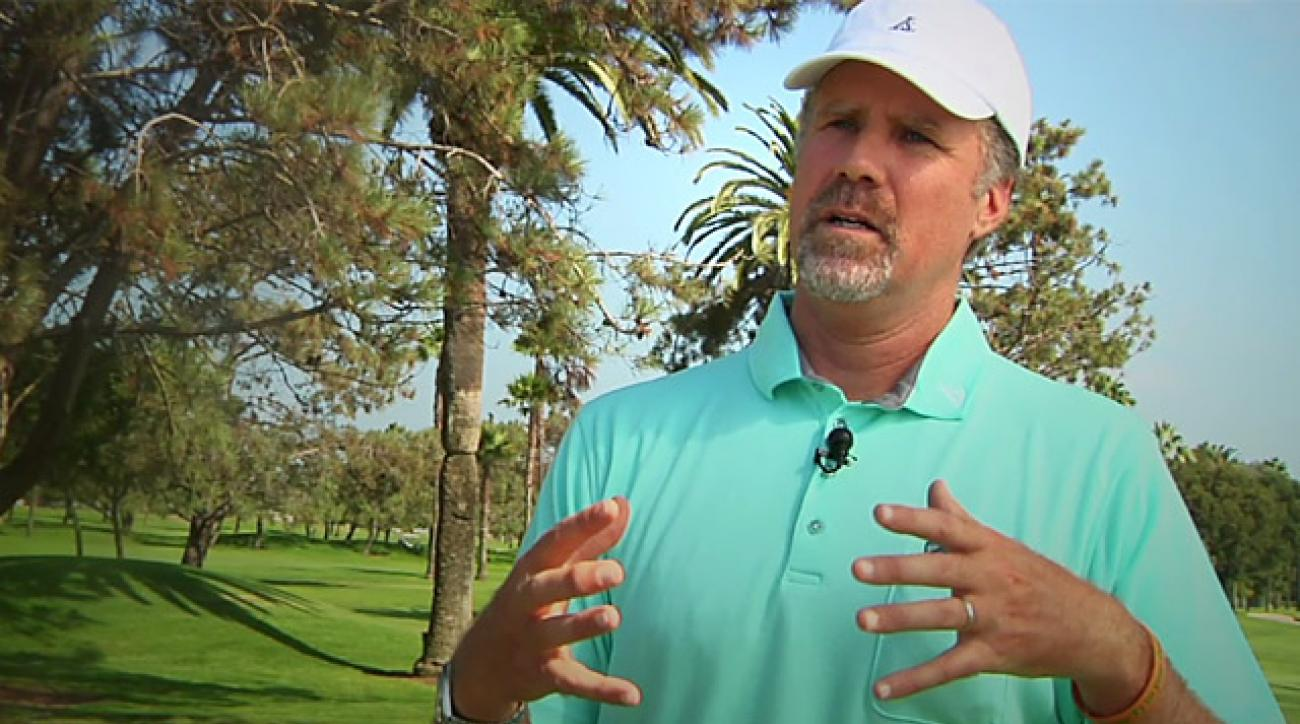 Will Ferrell dishes out some Ryder Cup advice