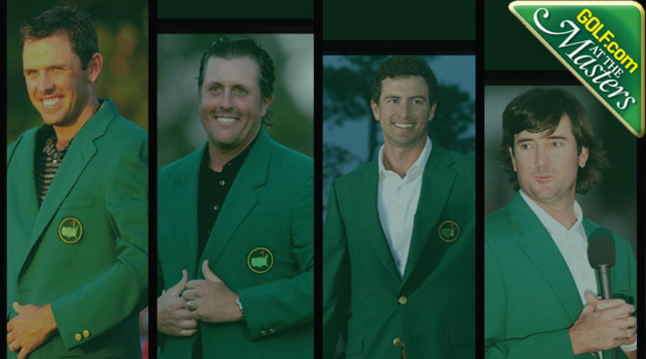 Masters 2014: Who Will Win the Green Jacket: Phil Mickelson, Bubba Watson, Adam Scott, Rory McIlroy