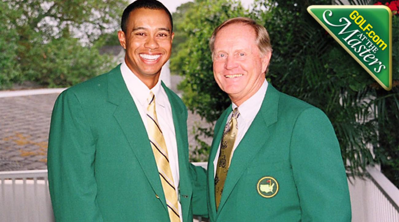 Old legends mix with new faces at Augusta National