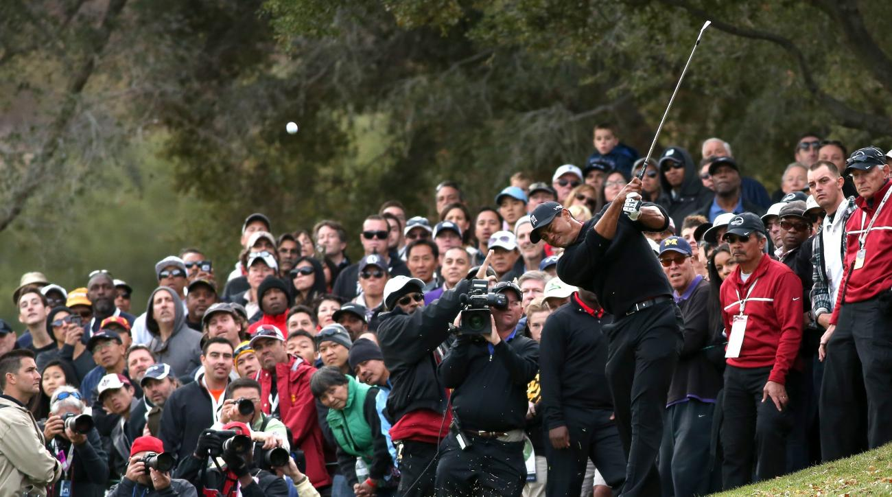 Tiger Woods lost in a playoff at the 2013 World Challenge