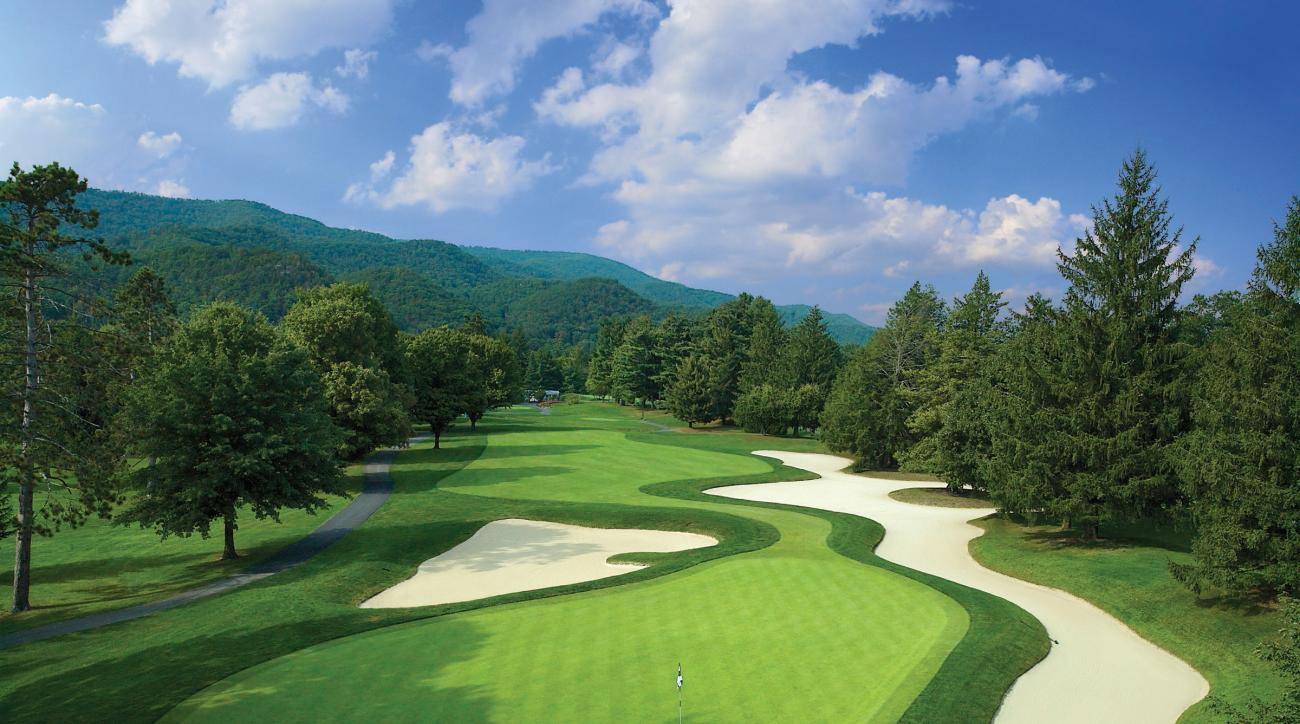 No. 14 at the Greenbrier