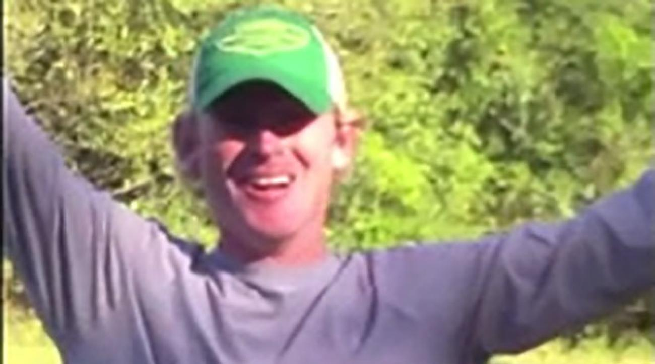 Brandt Snedeker shows us what target practice really means.