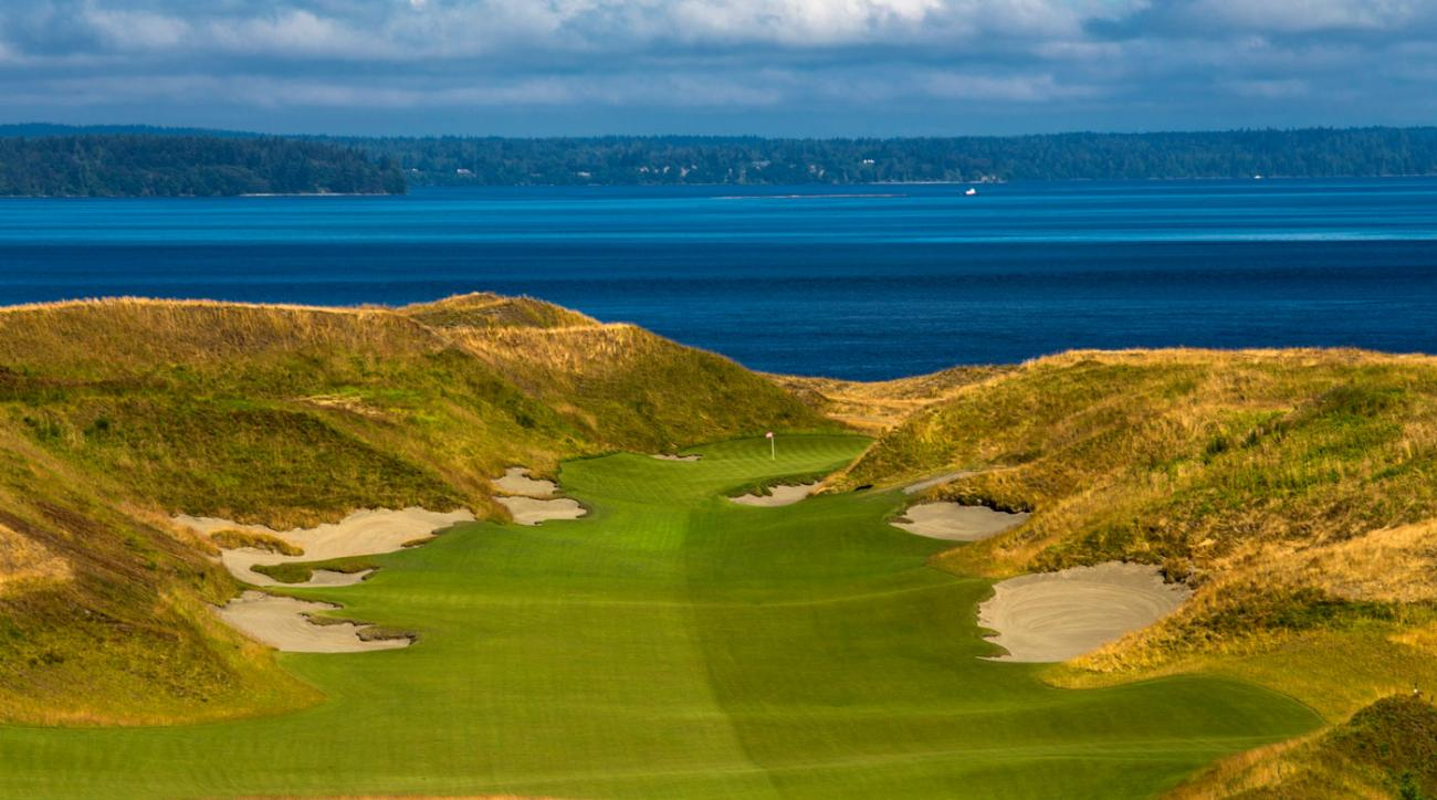 U.S. Open host Chambers Bay is one of three links-style major venues on the schedule in 2015.