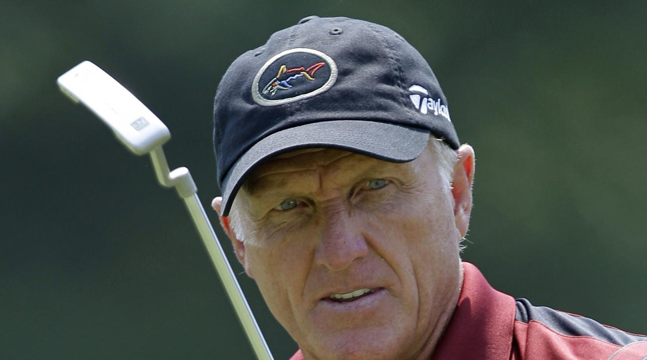 Greg Norman will join broadcast partner Joe Buck at this week's Franklin Templeton Shootout.