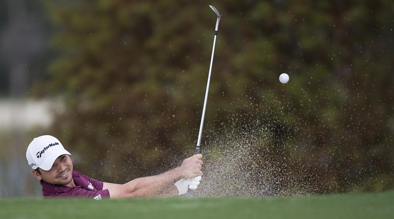 Jason Day teamed up with Cameron Tringale to shoot 55 on Thursday.