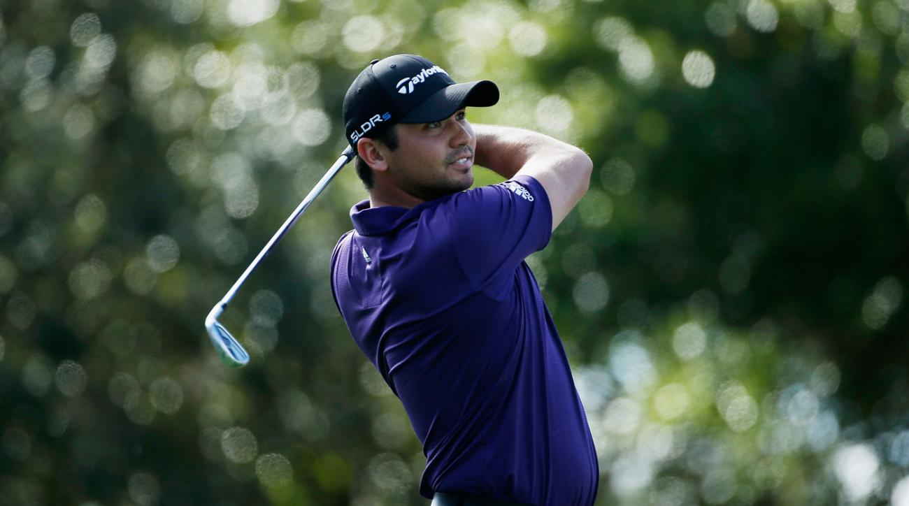 Jason Day and Cameron Tringale lead the Franklin Templeton Shootout by three shots.