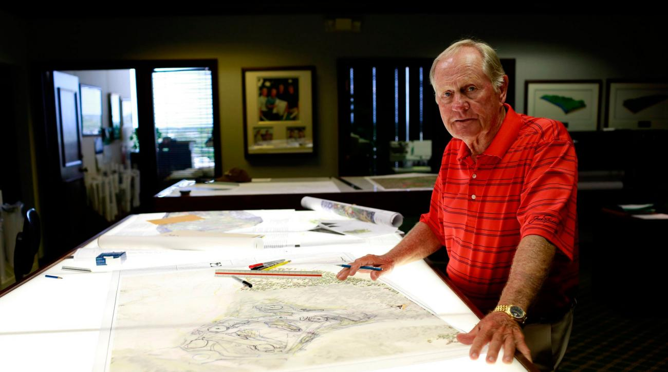 With almost 400 courses to his name, Nicklaus, who turns 75 in January, shows no signs of slowing down.