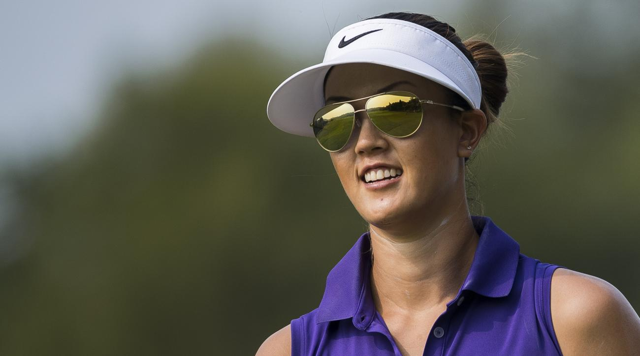 Michelle Wie at the Taiwan Championship in October.