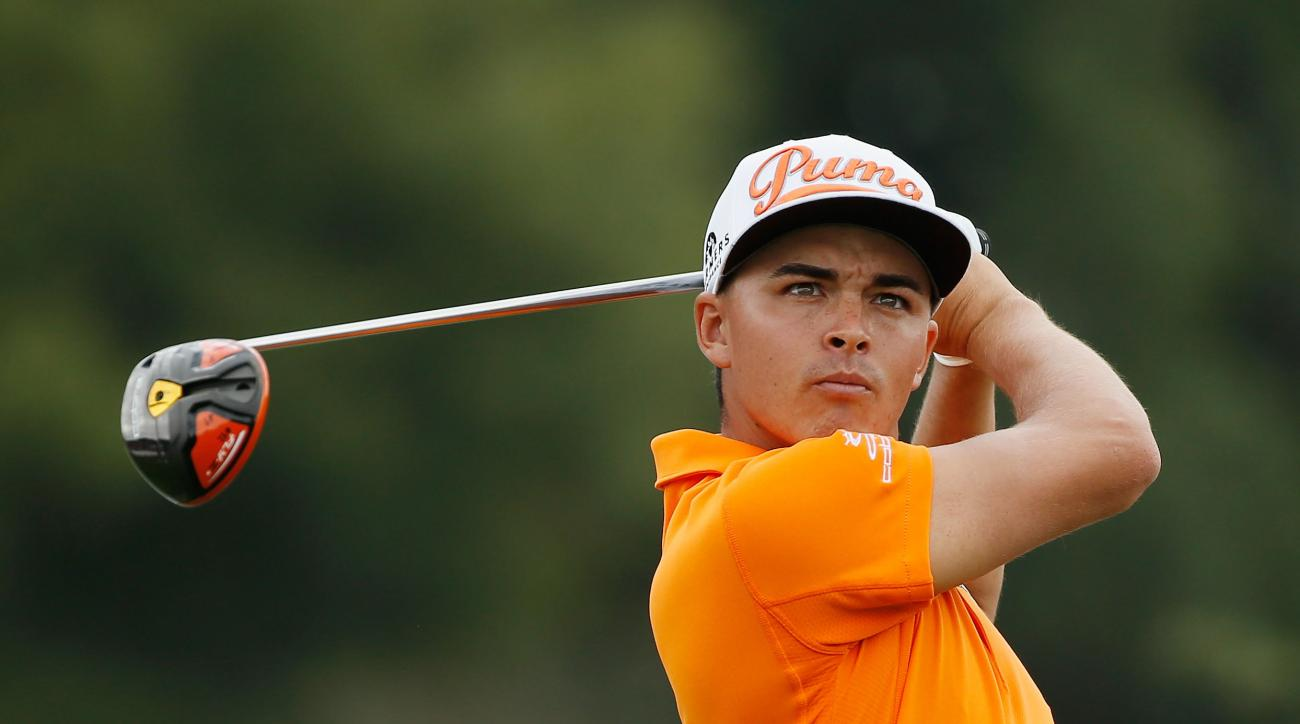 Rickie Fowler in action during the final round of the Hero World Challenge on Dec. 7, 2014.