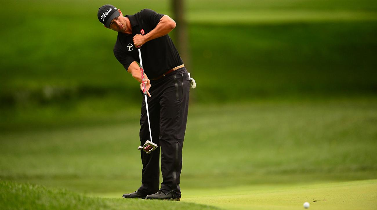 Adam Scott was the best lag putter on Tour in 2014.