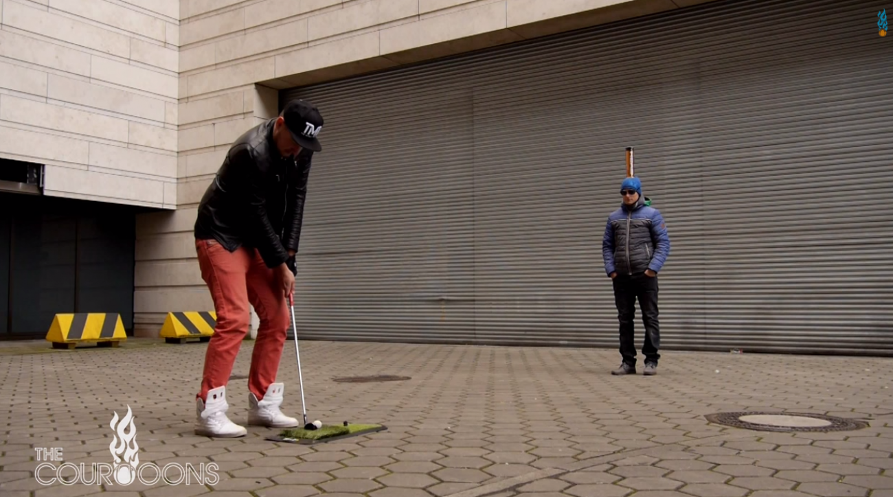 The Courooons Trick Golf Shots