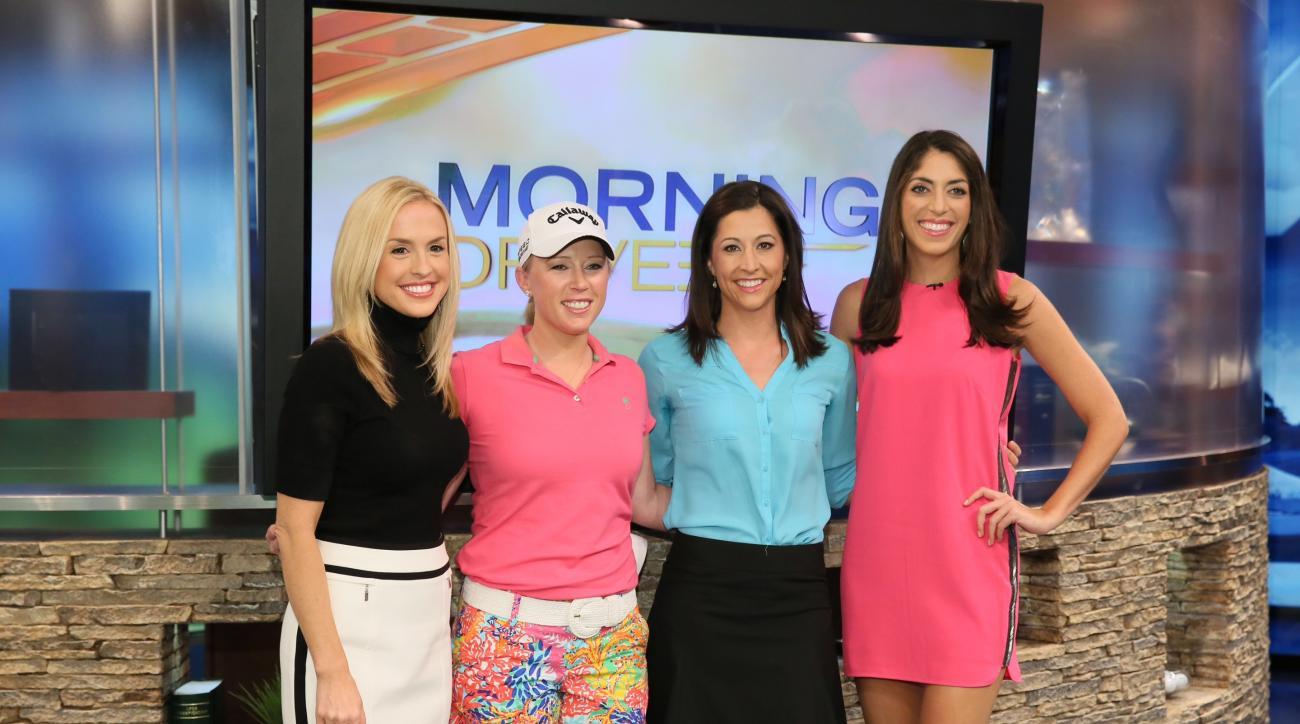 Golf Channel Morning Drive Cast >> Bailey Mosier: The New Face of Golf Channel's Morning Drive | GOLF.com