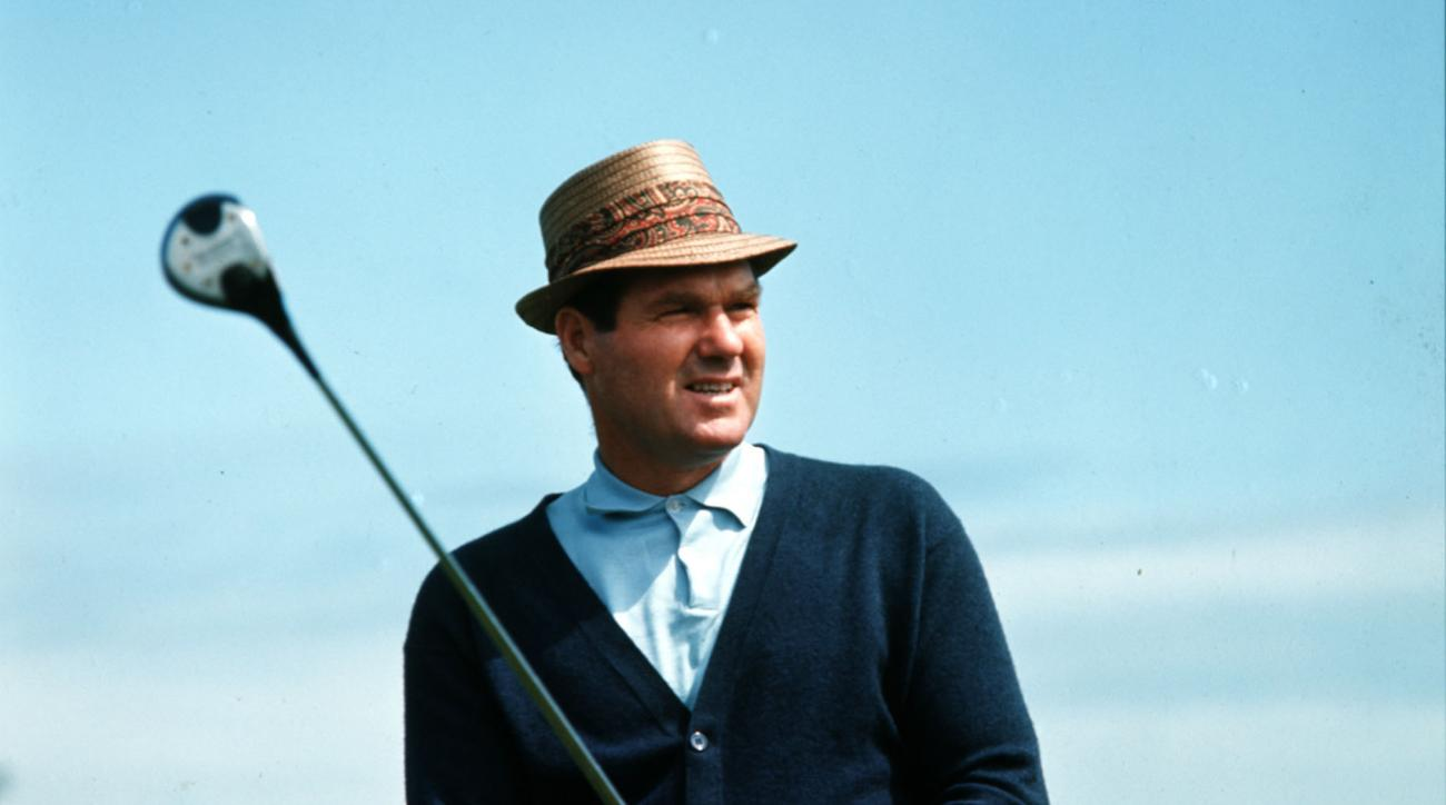 Kel Nagle, seen here in Australia in 1970, won the 1960 British Open over Arnold Palmer and finished runner-up to Gary Player at the 1965 U.S. Open.