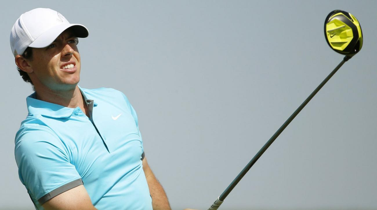 Rory McIlroy has finished second in three consecutive European Tour events.