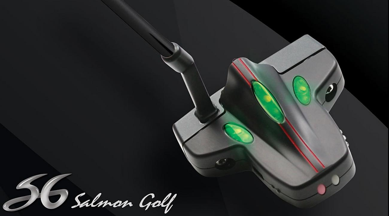 Salmon Golf Stroke Sensor Putting System