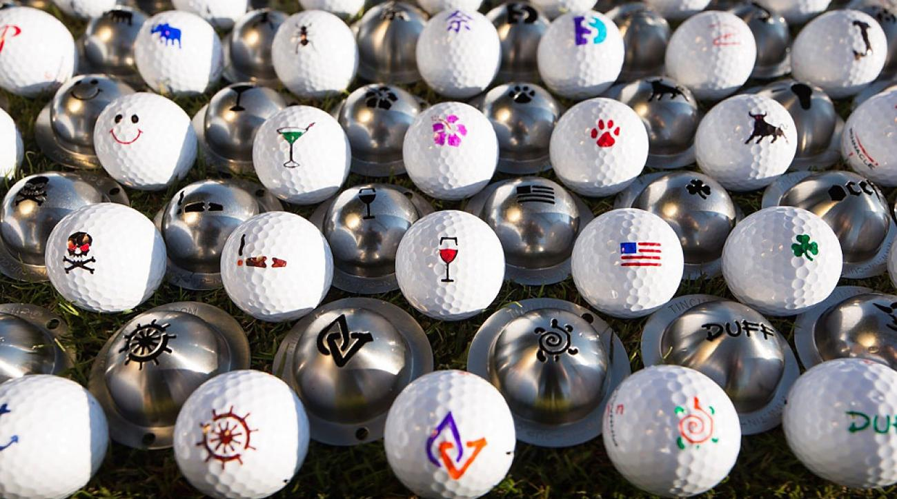 Tin Cup Ball Markers