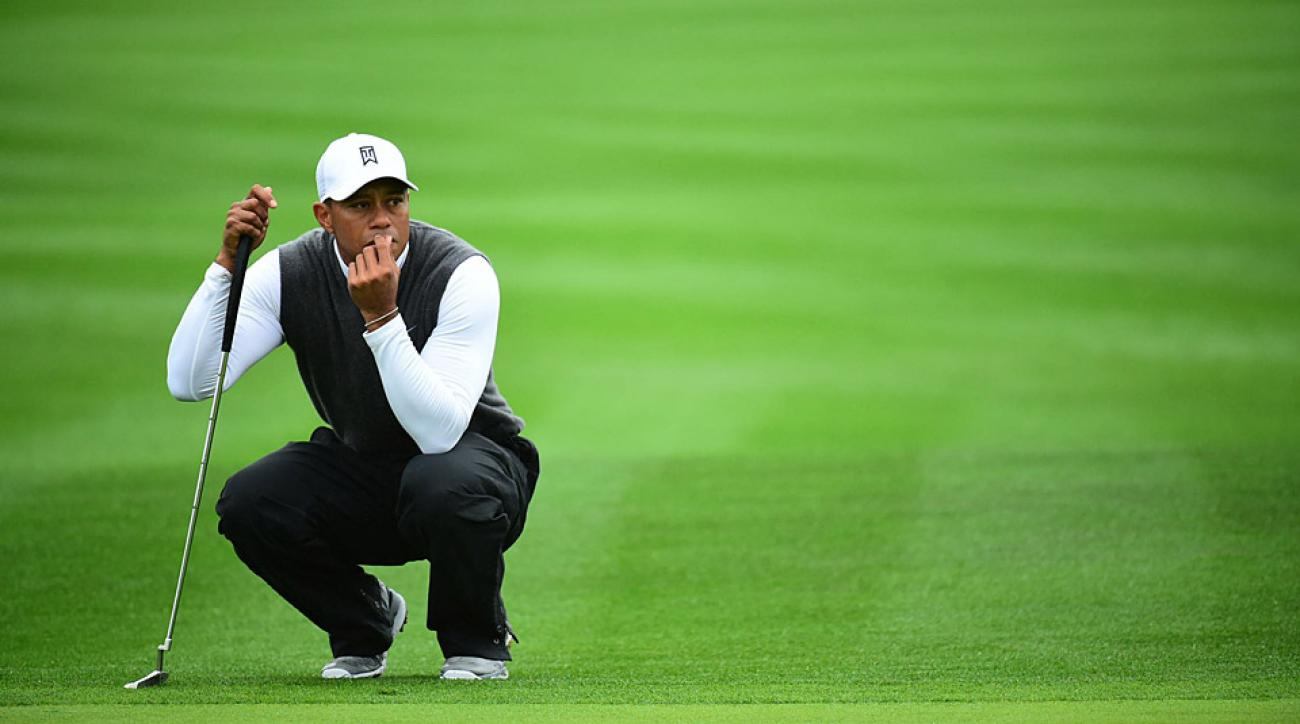 Tiger Woods missed the cut at the Phoenix Open following a second-round 82.