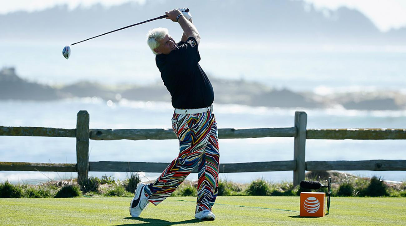 John Daly shot a seven-under 65 on Thursday.