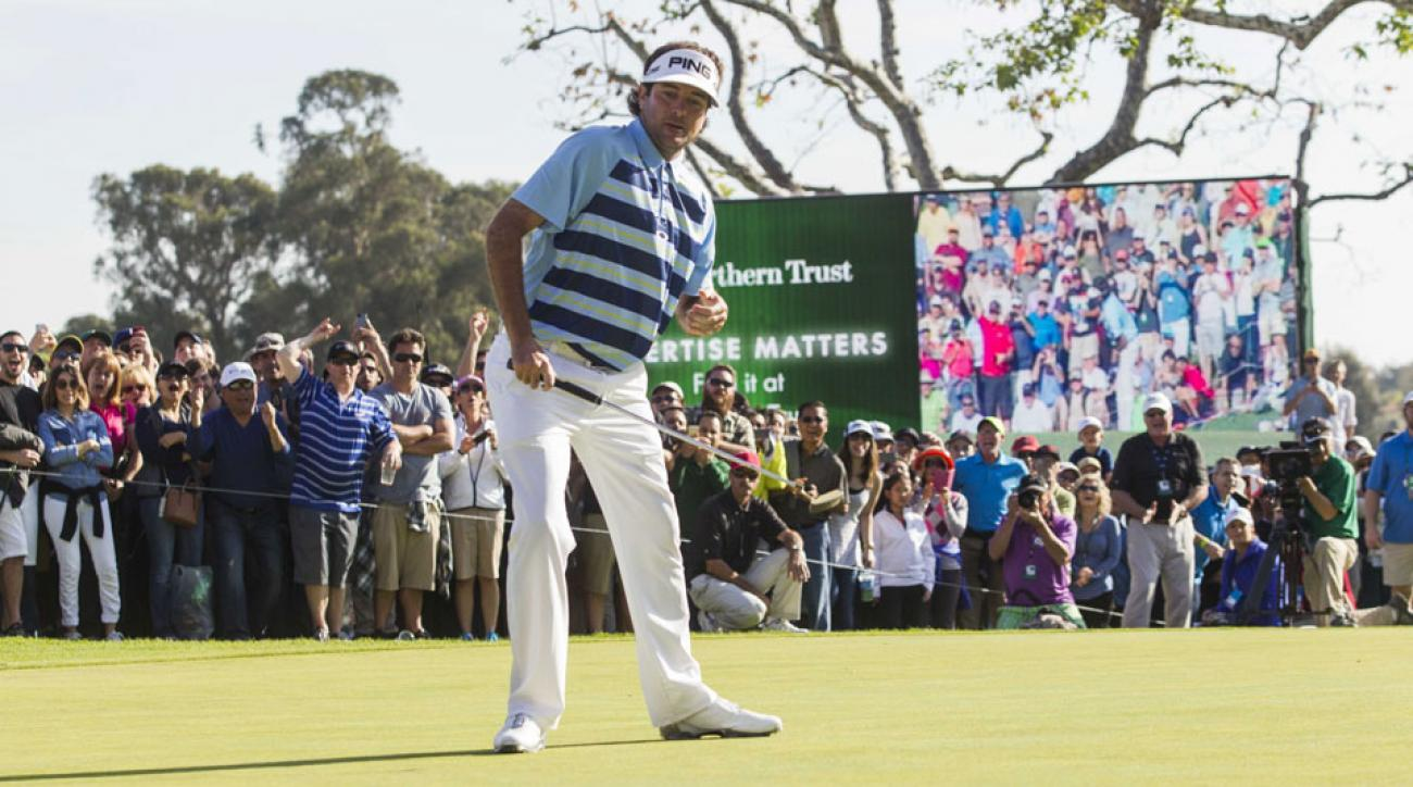 Bubba Watson won last year's Northern Trust Open.