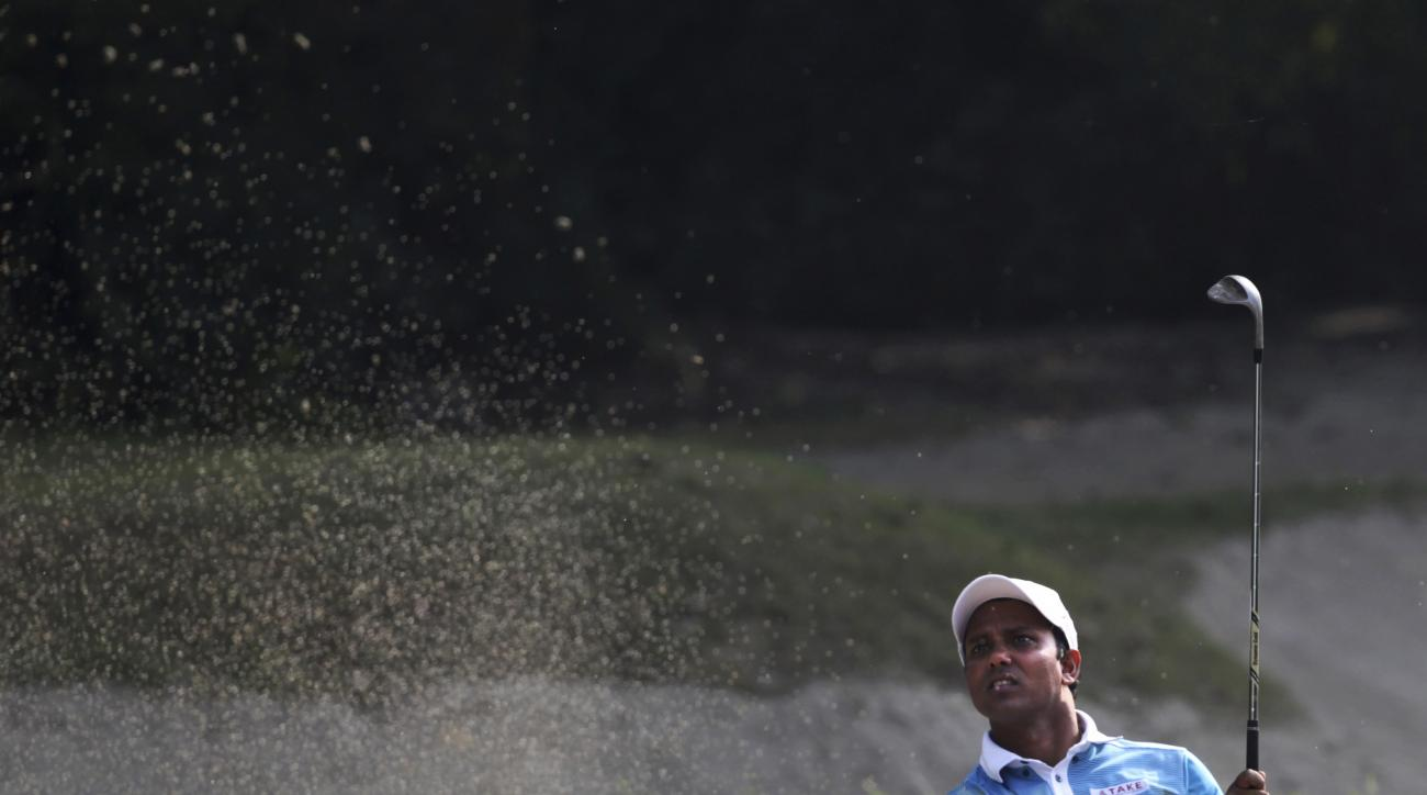 India's Shiv Chowrasia leads after the second round of the Indian Open.