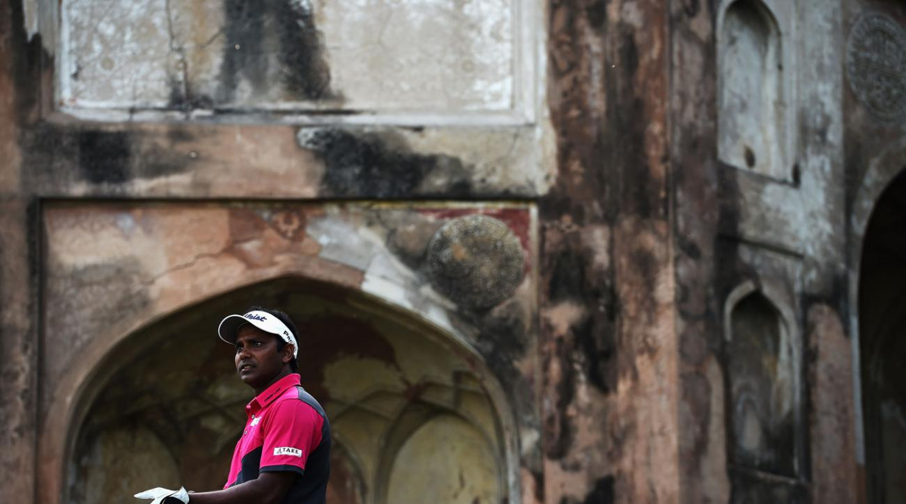Shiv Chowrasia leads the Hero Indian Open.