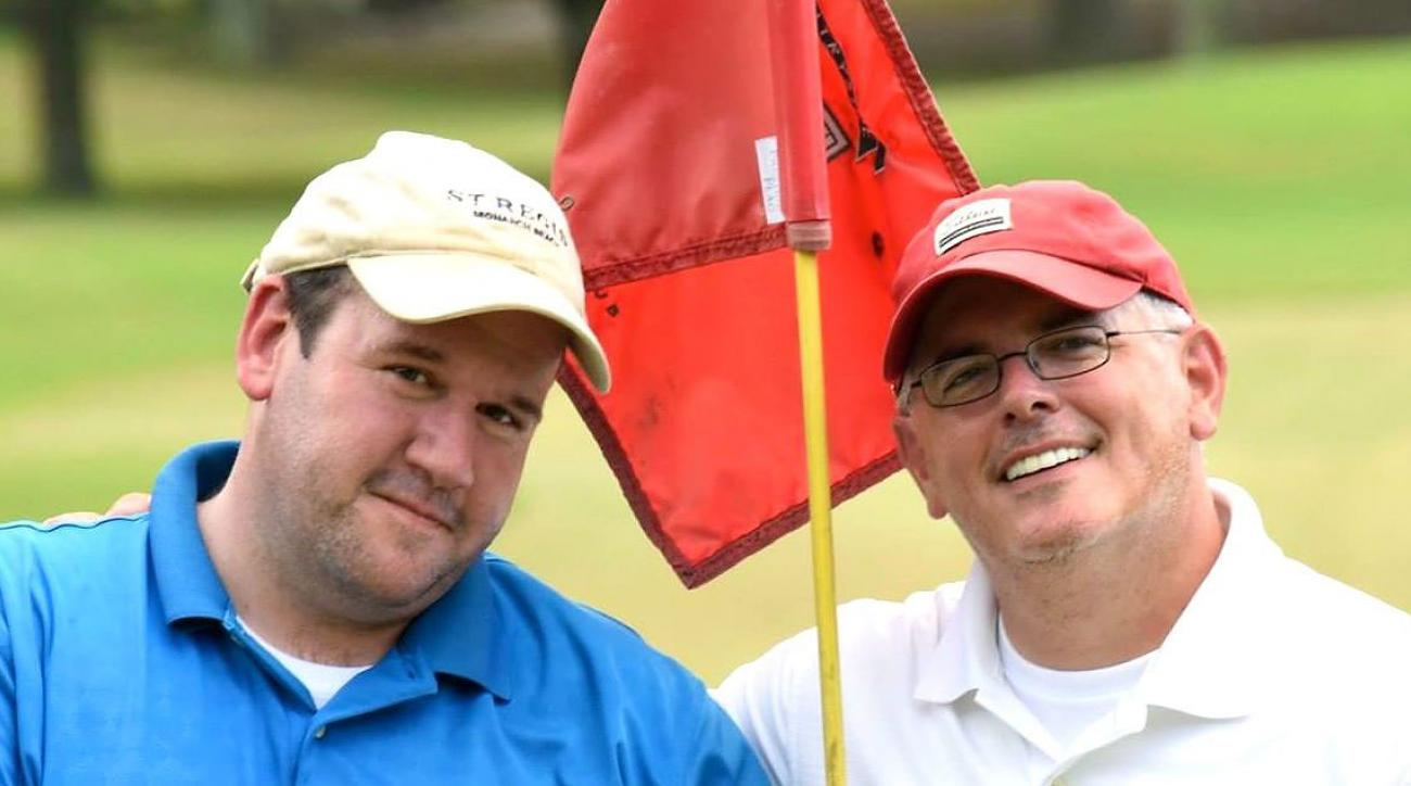 Roger Hockenberry (right) and his partner David are members at Army Navy Country Club.