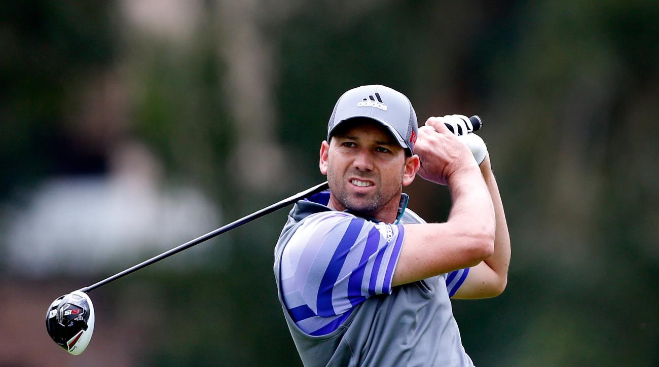 Using only a 43-inch shaft, Sergio Garcia thrives with his drives.