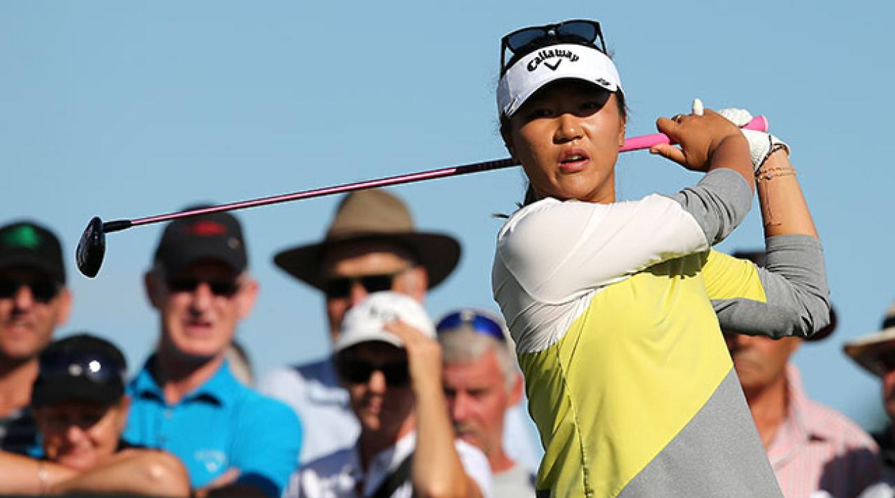 Lydia Ko shot a course-record 61 in Round 2 of the New Zealand's Women Open.