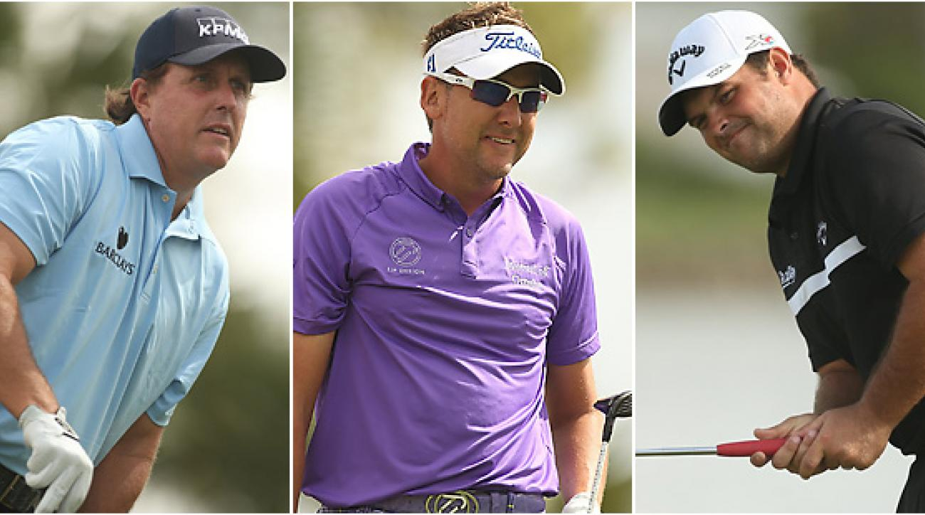 Phil Mickelson, Ian Poulter and Patrick Reed are still in the mix at the exciting but often rain-delayed Honda Classic.