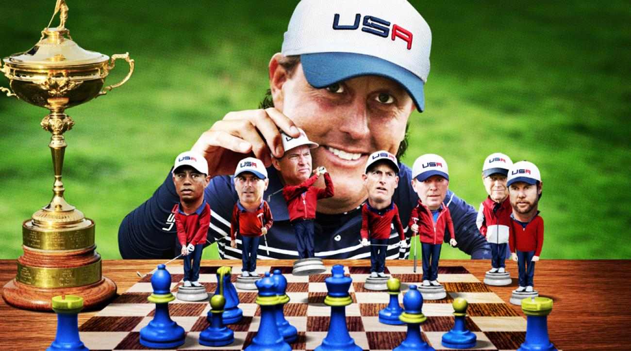 The real puppet master behind the U.S. Ryder Cup team is Phil Mickelson, says former PGA of America President Ted Bishop.