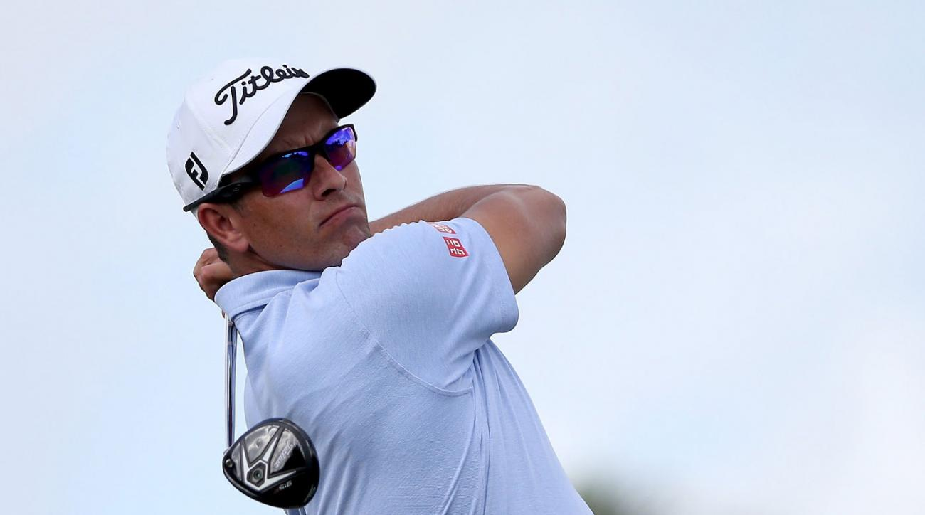 Adam Scott is planning to use a normal-sized putter at Doral.