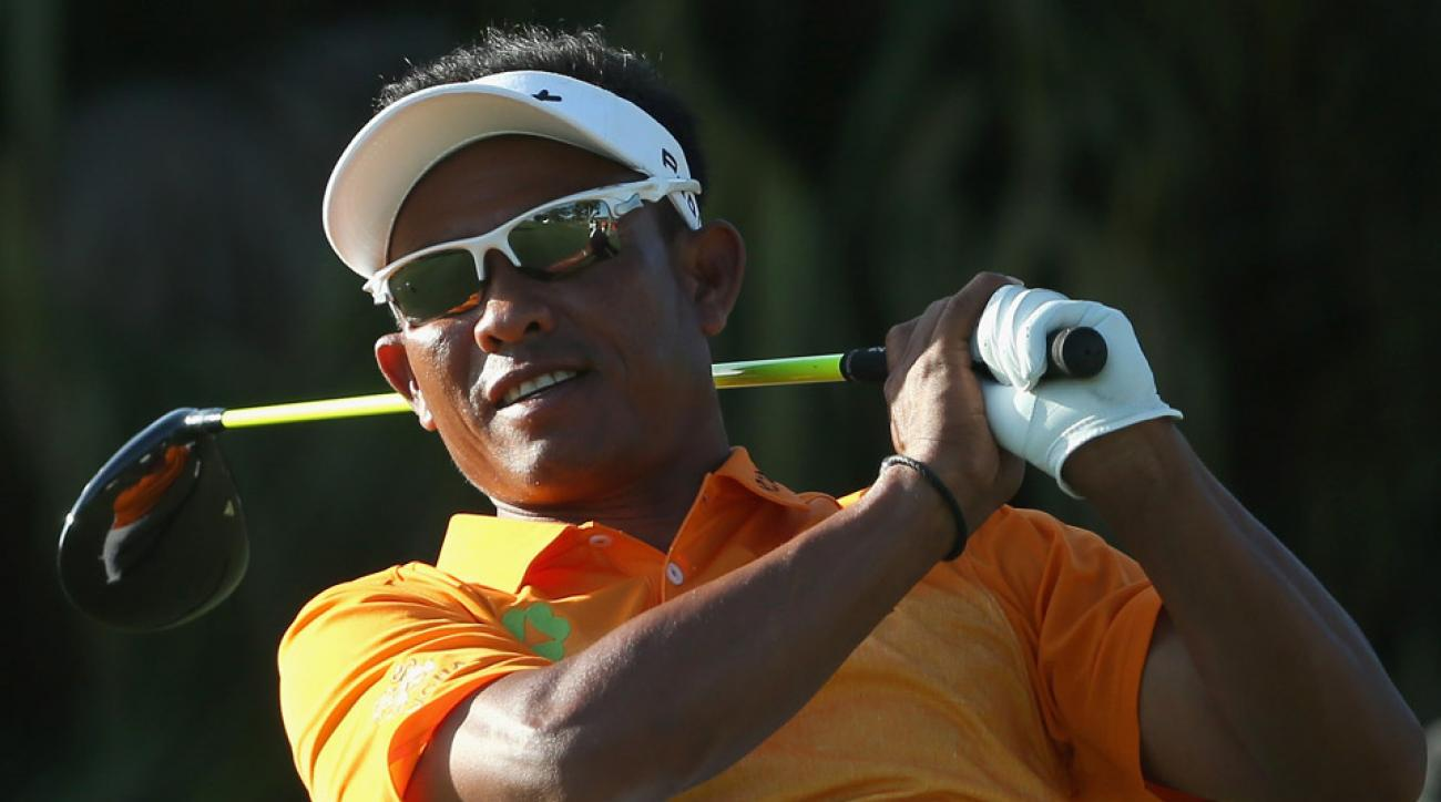 Thomgchai Jaidee Thursday at the WGC Cadillac at Doral.
