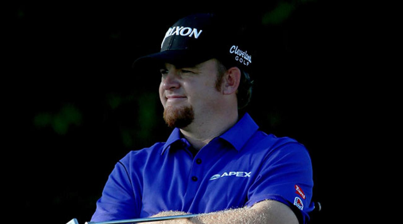 J.B. Holmes has a two-shot lead over Ryan Moore at Doral