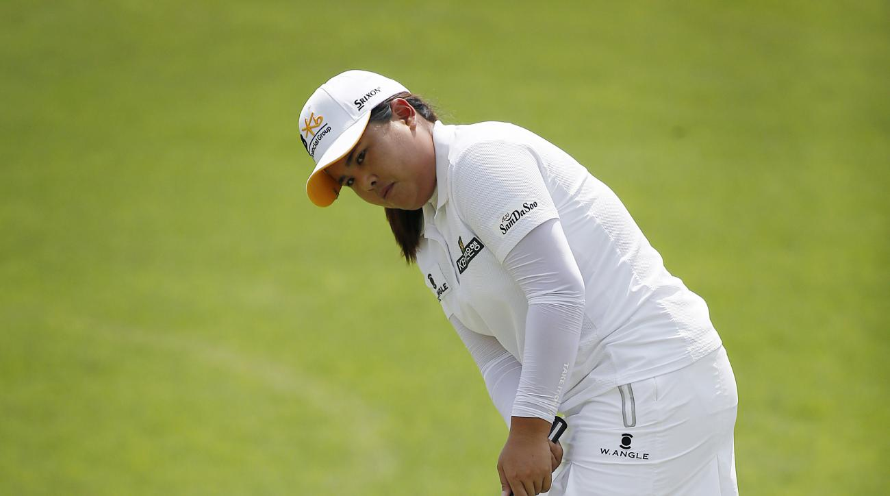 Inbee Park took the lead on Thursday.