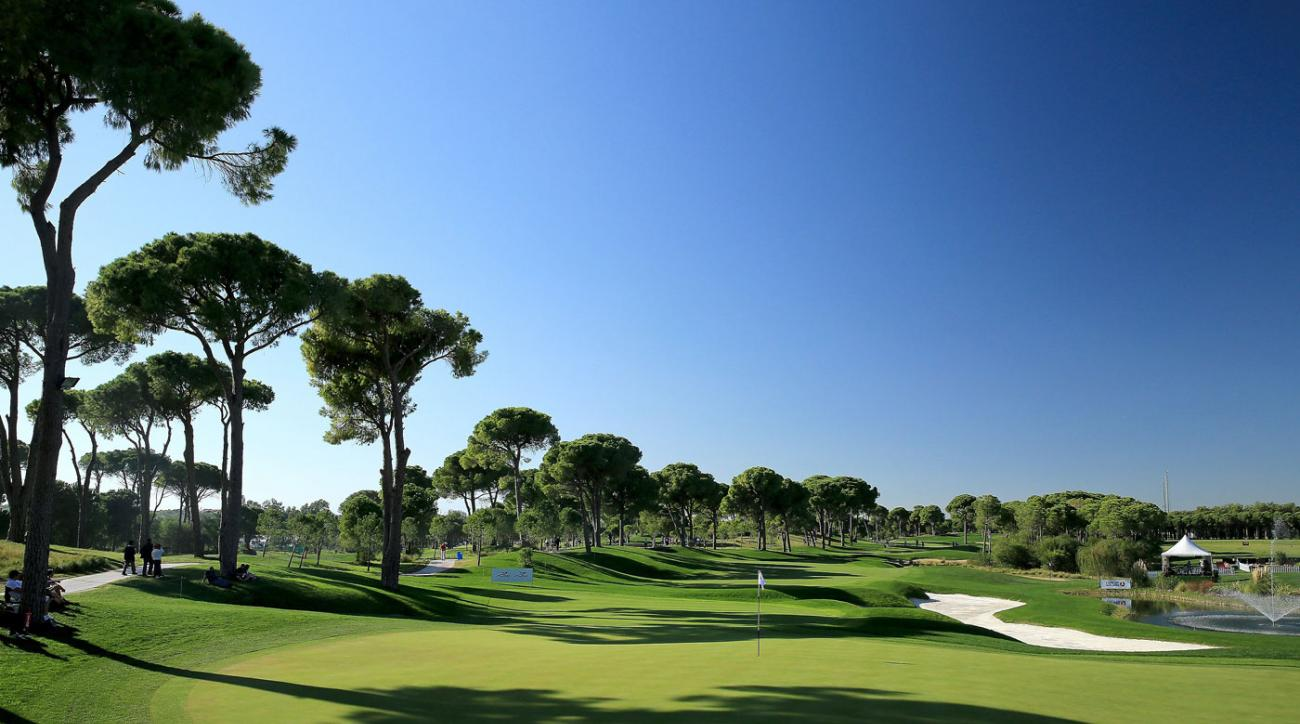 The 2022 Ryder Cup won't be coming to Montgomerie Maxx Royal Course.